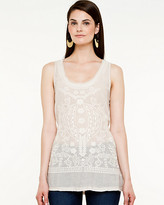 Le Château Challis Embroidered Top