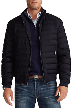Polo Ralph Lauren Reversible Water-Repellent Down Bomber Jacket