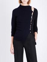 Jacquemus La Maille cutout wool jumper