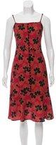 Suno Floral Silk Dress w/ Tags