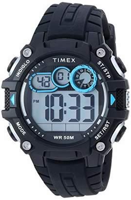 Timex Men's TW5M27300 DGTL Big Digit 48mm Silicone Strap Watch