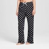 bride and beauties by BedHead Pajamas Bride & Beauties® by Bedhead Pajamas® Women's Long Ruffle Pajama Pant - Polka Dot