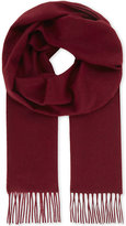 Richard James Solid cashmere scarf