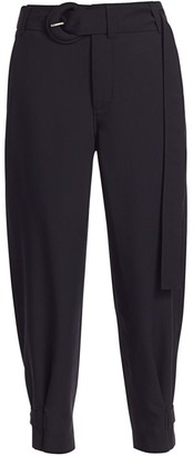 Proenza Schouler White Label Belted Buckle Cuff Pants