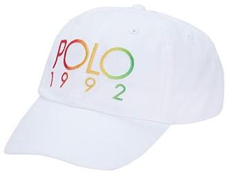 Polo Ralph Lauren Classic Sport Cap (White) Baseball Caps