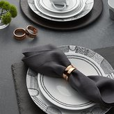 Crate & Barrel Kingston Copper Napkin Ring