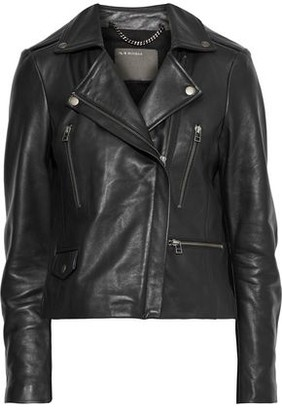 Muu Baa Muubaa Calista Textured-leather Biker Jacket