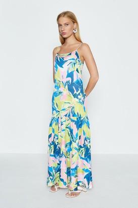 Coast Strappy Printed Maxi Dress
