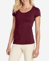 Eddie Bauer Women's Lookout Short-Sleeve T-Shirt - Solid