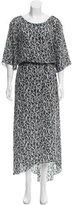 Suno Printed Maxi Dress