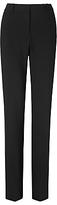 LK Bennett Cosima Straight Leg Trousers, Black