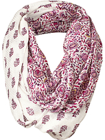 Fat Face Half and Half Floral Snood, Ivory/Multi