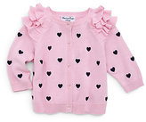 Hartstrings Infant's Heart Cardigan