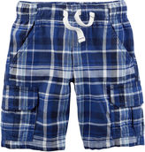 Carter's Pb Woven Short Pull-On Shorts Preschool Boys