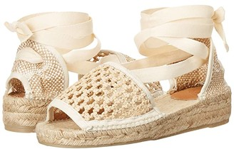 Castaner Sonia 20 Wedge Espadrille (Natural) Women's Shoes