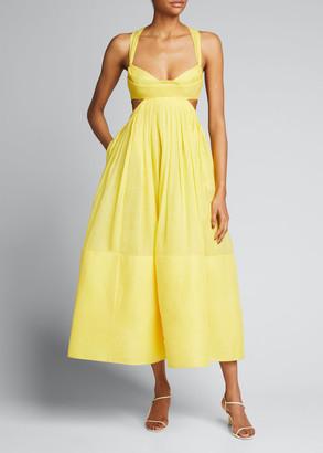 Zimmermann Botanica Bralette A-Line Gown
