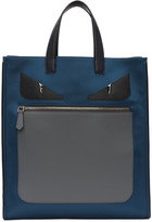 Fendi Navy bag Bugs Tote