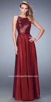 La Femme Noel Sequined Prom Dress