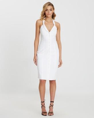 Bwldr New York Linen Blend Dress