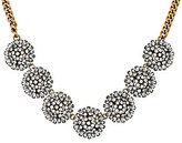BaubleBar As Is Crystal Dandelion Collar Necklace