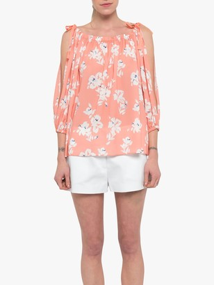 French Connection Verona Crepe Top