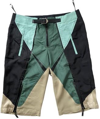 Louis Vuitton Multicolour Silk Shorts