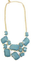 Ame Ame Blue Bejeweled Necklace