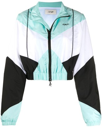 Kirin Cropped Windbreaker