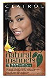 Clairol Natural Instincts, 3.5 / 35 Ebony Mocha Brown Black, Semi-Permanent Hair Color, 1 Kit