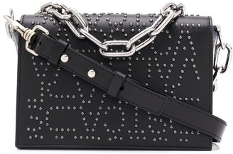 Just Cavalli Stud Detailed Chain Crossbody