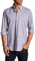 Peter Millar Ladin Plaid Tailored Fit Sport Shirt