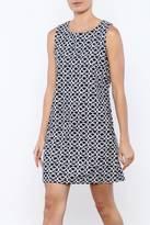 Aryeh Blue Print Dress