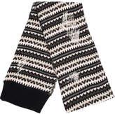 Lamberto Losani pattern knit scarf