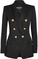 Balmain Double-breasted Wool Blazer - FR34