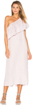 Mara Hoffman One Shoulder Midi Dress