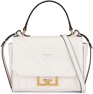 Givenchy Mini Eden Leather Bag in White   FWRD