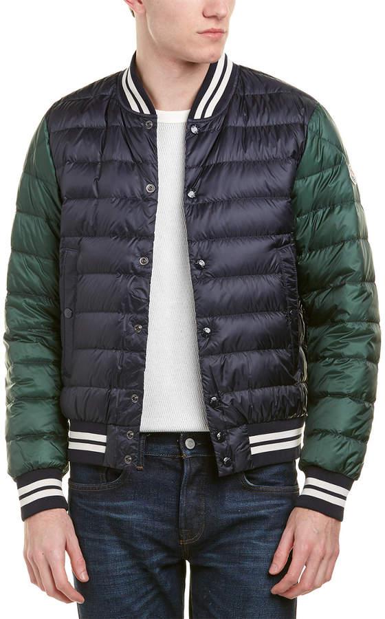 Moncler Enrick Quilted Down Jacket