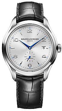 Baume & Mercier Women's Clifton Stainless Steel & Alligator Strap Watch
