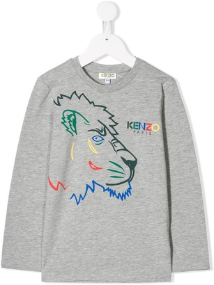Kenzo Kids Tiger and friends top