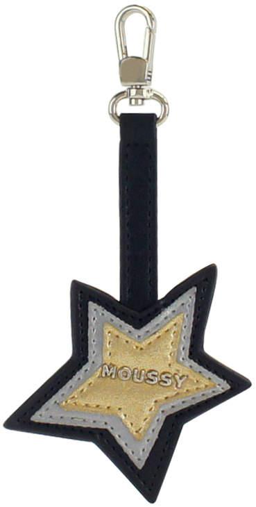 Moussy (マウジー) - 【SAC'S BAR】マウジー MOUSSY キーチャーム m01974105 【10】ブラック