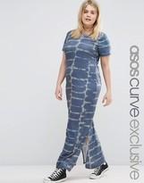 Asos Tie Dye Maxi Dress