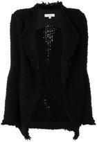 IRO shawl collar open cardi-coat