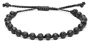 Link Up Lava Rock Pull-Cord Bracelet