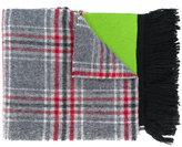 Gosha Rubchinskiy check panel scarf