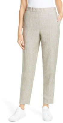 Fabiana Filippi Pull On Linen Trousers
