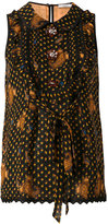 Coach printed blouse - women - Silk/Cotton/Nylon/Cupro - 2
