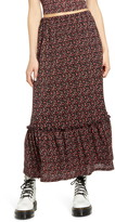 Only Pella Tiered Maxi Skirt