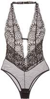 L'Agent by Agent Provocateur Women's Non-Wired Lace Bodysuit