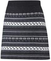 Ibex Women's Fresco Sweater Skirt - Nordic/Black Skirts