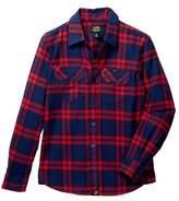 Lee Flannel Plaid Shirt (Big Boys)